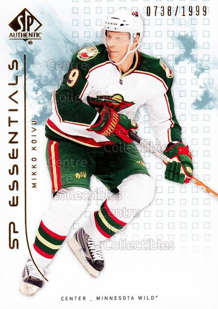 2009-10 SP Authentic #135 Mikko Koivu<br/>6 In Stock - $2.00 each - <a href=https://centericecollectibles.foxycart.com/cart?name=2009-10%20SP%20Authentic%20%23135%20Mikko%20Koivu...&quantity_max=6&price=$2.00&code=576599 class=foxycart> Buy it now! </a>