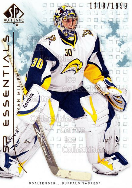 2009-10 SP Authentic #148 Ryan Miller<br/>3 In Stock - $2.00 each - <a href=https://centericecollectibles.foxycart.com/cart?name=2009-10%20SP%20Authentic%20%23148%20Ryan%20Miller...&quantity_max=3&price=$2.00&code=576612 class=foxycart> Buy it now! </a>