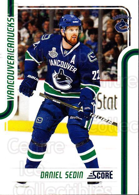 2011-12 Score Glossy #441 Daniel Sedin<br/>1 In Stock - $2.00 each - <a href=https://centericecollectibles.foxycart.com/cart?name=2011-12%20Score%20Glossy%20%23441%20Daniel%20Sedin...&quantity_max=1&price=$2.00&code=576820 class=foxycart> Buy it now! </a>