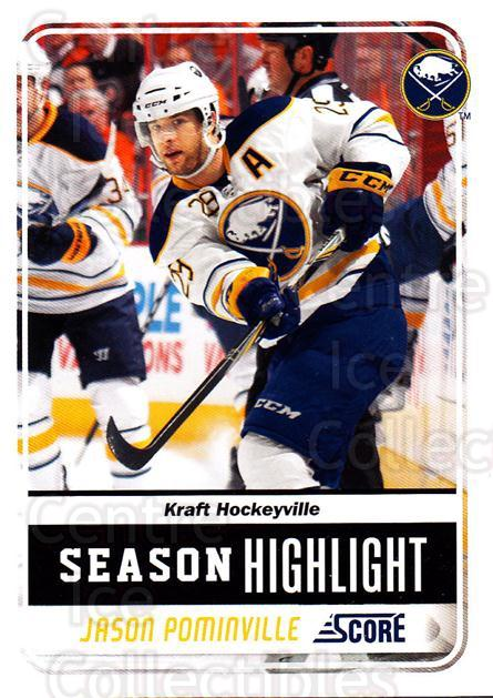 2011-12 Score Glossy #2 Jason Pominville<br/>2 In Stock - $2.00 each - <a href=https://centericecollectibles.foxycart.com/cart?name=2011-12%20Score%20Glossy%20%232%20Jason%20Pominvill...&quantity_max=2&price=$2.00&code=576901 class=foxycart> Buy it now! </a>