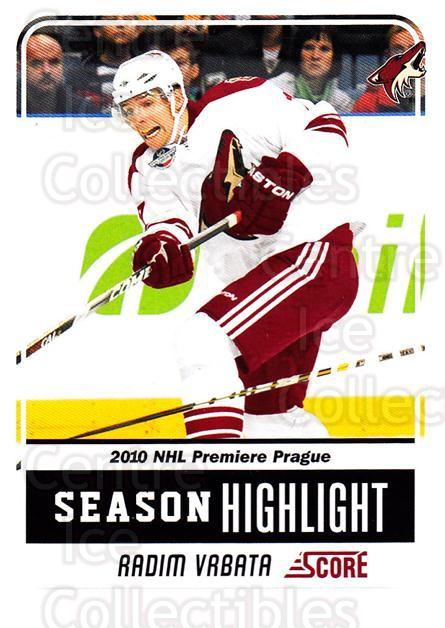 2011-12 Score Glossy #5 Radim Vrbata<br/>2 In Stock - $2.00 each - <a href=https://centericecollectibles.foxycart.com/cart?name=2011-12%20Score%20Glossy%20%235%20Radim%20Vrbata...&quantity_max=2&price=$2.00&code=576904 class=foxycart> Buy it now! </a>