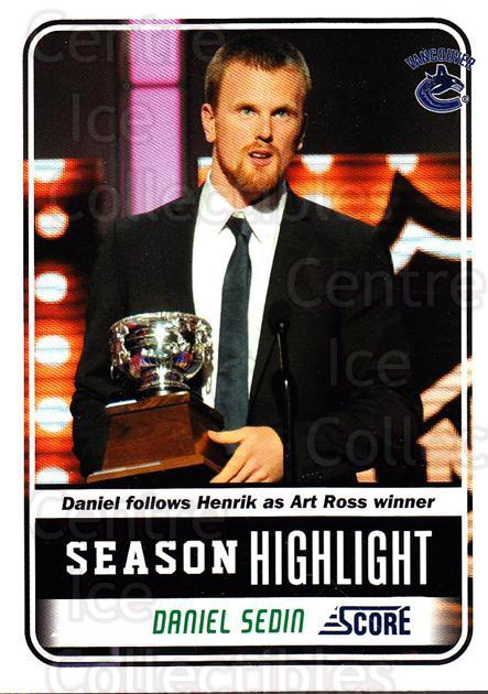 2011-12 Score Glossy #28 Daniel Sedin<br/>2 In Stock - $2.00 each - <a href=https://centericecollectibles.foxycart.com/cart?name=2011-12%20Score%20Glossy%20%2328%20Daniel%20Sedin...&quantity_max=2&price=$2.00&code=576927 class=foxycart> Buy it now! </a>