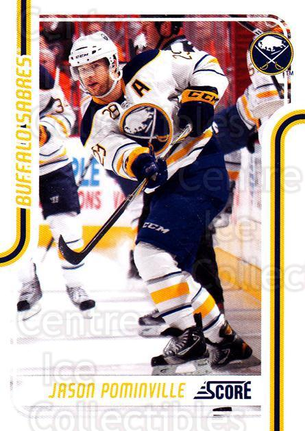 2011-12 Score Glossy #69 Jason Pominville<br/>2 In Stock - $2.00 each - <a href=https://centericecollectibles.foxycart.com/cart?name=2011-12%20Score%20Glossy%20%2369%20Jason%20Pominvill...&quantity_max=2&price=$2.00&code=576968 class=foxycart> Buy it now! </a>