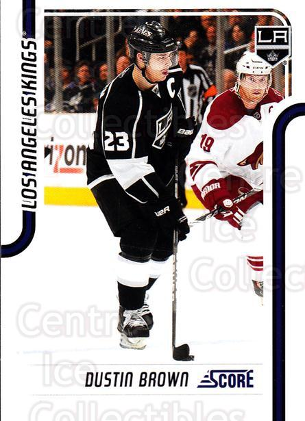 2011-12 Score Glossy #221 Dustin Brown<br/>2 In Stock - $2.00 each - <a href=https://centericecollectibles.foxycart.com/cart?name=2011-12%20Score%20Glossy%20%23221%20Dustin%20Brown...&quantity_max=2&price=$2.00&code=577146 class=foxycart> Buy it now! </a>