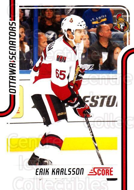 2011-12 Score Glossy #331 Erik Karlsson<br/>2 In Stock - $2.00 each - <a href=https://centericecollectibles.foxycart.com/cart?name=2011-12%20Score%20Glossy%20%23331%20Erik%20Karlsson...&quantity_max=2&price=$2.00&code=577256 class=foxycart> Buy it now! </a>