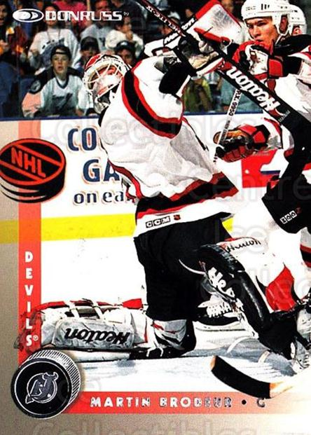 1997-98 Donruss #126 Martin Brodeur<br/>3 In Stock - $2.00 each - <a href=https://centericecollectibles.foxycart.com/cart?name=1997-98%20Donruss%20%23126%20Martin%20Brodeur...&price=$2.00&code=57733 class=foxycart> Buy it now! </a>