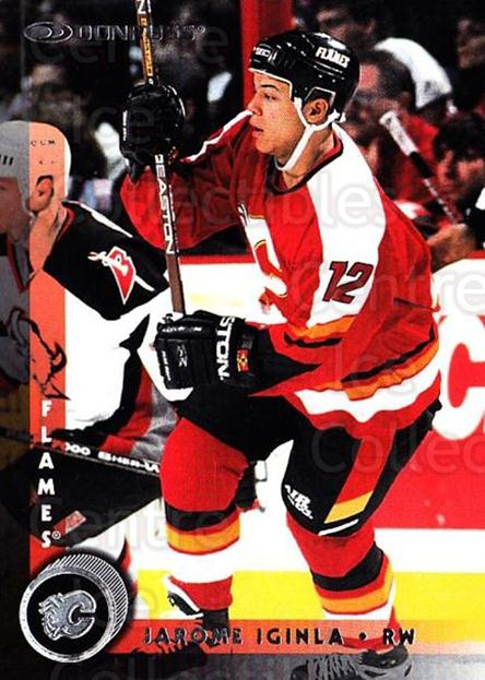 1997-98 Donruss #14 Jarome Iginla<br/>5 In Stock - $1.00 each - <a href=https://centericecollectibles.foxycart.com/cart?name=1997-98%20Donruss%20%2314%20Jarome%20Iginla...&quantity_max=5&price=$1.00&code=57747 class=foxycart> Buy it now! </a>