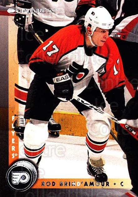 1997-98 Donruss #157 Rod Brind'Amour<br/>5 In Stock - $1.00 each - <a href=https://centericecollectibles.foxycart.com/cart?name=1997-98%20Donruss%20%23157%20Rod%20Brind'Amour...&quantity_max=5&price=$1.00&code=57764 class=foxycart> Buy it now! </a>
