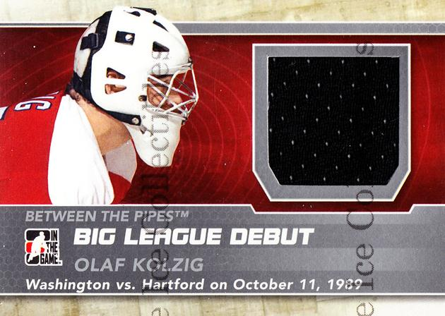 2012-13 Between The Pipes Big League Debut Jersey Silver #15 Olaf Kolzig<br/>1 In Stock - $5.00 each - <a href=https://centericecollectibles.foxycart.com/cart?name=2012-13%20Between%20The%20Pipes%20Big%20League%20Debut%20Jersey%20Silver%20%2315%20Olaf%20Kolzig...&quantity_max=1&price=$5.00&code=577757 class=foxycart> Buy it now! </a>