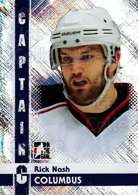 2011-12 ITG Captain C #68 Rick Nash<br/>3 In Stock - $3.00 each - <a href=https://centericecollectibles.foxycart.com/cart?name=2011-12%20ITG%20Captain%20C%20%2368%20Rick%20Nash...&quantity_max=3&price=$3.00&code=577850 class=foxycart> Buy it now! </a>