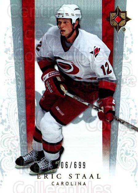 2006-07 UD Ultimate Collection #13 Eric Staal<br/>3 In Stock - $3.00 each - <a href=https://centericecollectibles.foxycart.com/cart?name=2006-07%20UD%20Ultimate%20Collection%20%2313%20Eric%20Staal...&quantity_max=3&price=$3.00&code=578081 class=foxycart> Buy it now! </a>