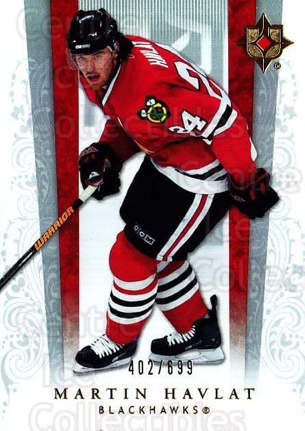 2006-07 UD Ultimate Collection #15 Martin Havlat<br/>3 In Stock - $3.00 each - <a href=https://centericecollectibles.foxycart.com/cart?name=2006-07%20UD%20Ultimate%20Collection%20%2315%20Martin%20Havlat...&quantity_max=3&price=$3.00&code=578083 class=foxycart> Buy it now! </a>