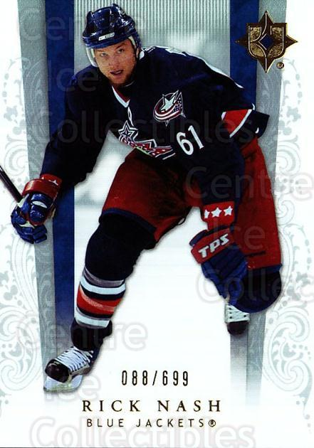 2006-07 UD Ultimate Collection #19 Rick Nash<br/>1 In Stock - $5.00 each - <a href=https://centericecollectibles.foxycart.com/cart?name=2006-07%20UD%20Ultimate%20Collection%20%2319%20Rick%20Nash...&quantity_max=1&price=$5.00&code=578087 class=foxycart> Buy it now! </a>