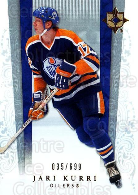 2006-07 UD Ultimate Collection #28 Jari Kurri<br/>1 In Stock - $5.00 each - <a href=https://centericecollectibles.foxycart.com/cart?name=2006-07%20UD%20Ultimate%20Collection%20%2328%20Jari%20Kurri...&quantity_max=1&price=$5.00&code=578096 class=foxycart> Buy it now! </a>