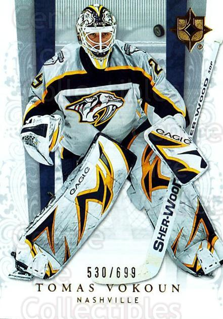 2006-07 UD Ultimate Collection #35 Tomas Vokoun<br/>3 In Stock - $3.00 each - <a href=https://centericecollectibles.foxycart.com/cart?name=2006-07%20UD%20Ultimate%20Collection%20%2335%20Tomas%20Vokoun...&quantity_max=3&price=$3.00&code=578103 class=foxycart> Buy it now! </a>