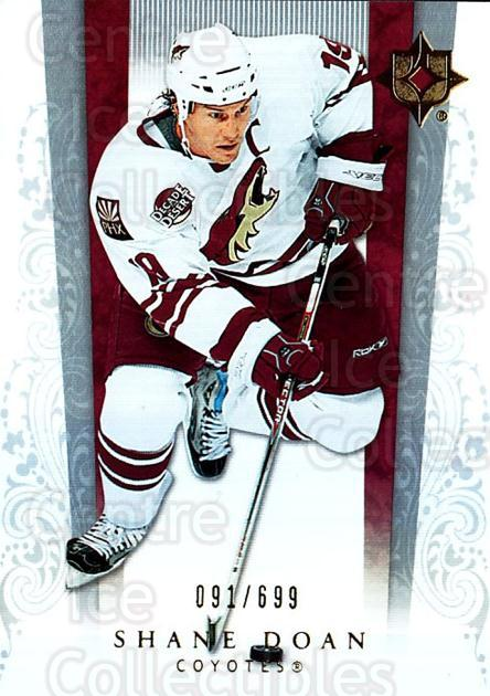 2006-07 UD Ultimate Collection #46 Shane Doan<br/>1 In Stock - $5.00 each - <a href=https://centericecollectibles.foxycart.com/cart?name=2006-07%20UD%20Ultimate%20Collection%20%2346%20Shane%20Doan...&quantity_max=1&price=$5.00&code=578114 class=foxycart> Buy it now! </a>