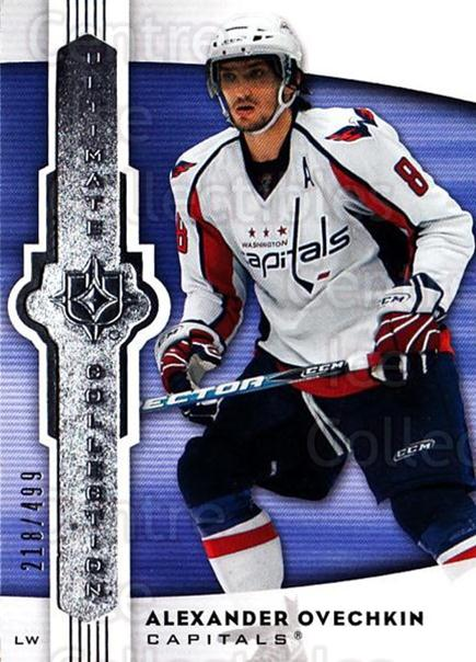 2007-08 UD Ultimate Collection #1 Alexander Ovechkin<br/>1 In Stock - $5.00 each - <a href=https://centericecollectibles.foxycart.com/cart?name=2007-08%20UD%20Ultimate%20Collection%20%231%20Alexander%20Ovech...&price=$5.00&code=578201 class=foxycart> Buy it now! </a>