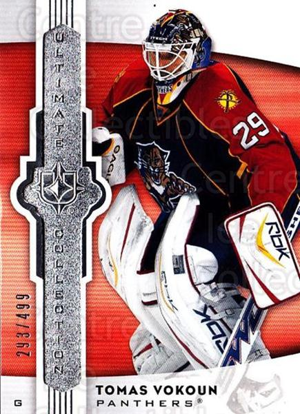 2007-08 UD Ultimate Collection #40 Tomas Vokoun<br/>2 In Stock - $5.00 each - <a href=https://centericecollectibles.foxycart.com/cart?name=2007-08%20UD%20Ultimate%20Collection%20%2340%20Tomas%20Vokoun...&quantity_max=2&price=$5.00&code=578240 class=foxycart> Buy it now! </a>