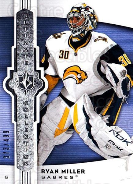2007-08 UD Ultimate Collection #56 Ryan Miller<br/>1 In Stock - $5.00 each - <a href=https://centericecollectibles.foxycart.com/cart?name=2007-08%20UD%20Ultimate%20Collection%20%2356%20Ryan%20Miller...&quantity_max=1&price=$5.00&code=578256 class=foxycart> Buy it now! </a>