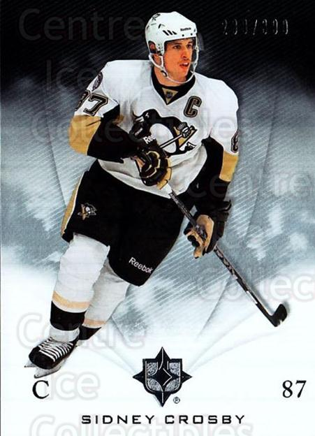 2010-11 UD Ultimate Collection #47 Sidney Crosby<br/>1 In Stock - $15.00 each - <a href=https://centericecollectibles.foxycart.com/cart?name=2010-11%20UD%20Ultimate%20Collection%20%2347%20Sidney%20Crosby...&price=$15.00&code=578409 class=foxycart> Buy it now! </a>
