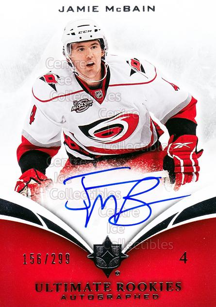 2010-11 UD Ultimate Collection #107 Jamie McBain<br/>1 In Stock - $5.00 each - <a href=https://centericecollectibles.foxycart.com/cart?name=2010-11%20UD%20Ultimate%20Collection%20%23107%20Jamie%20McBain...&price=$5.00&code=578469 class=foxycart> Buy it now! </a>
