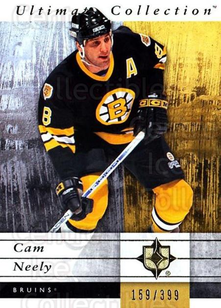 2011-12 UD Ultimate Collection #3 Cam Neely<br/>1 In Stock - $5.00 each - <a href=https://centericecollectibles.foxycart.com/cart?name=2011-12%20UD%20Ultimate%20Collection%20%233%20Cam%20Neely...&quantity_max=1&price=$5.00&code=578566 class=foxycart> Buy it now! </a>