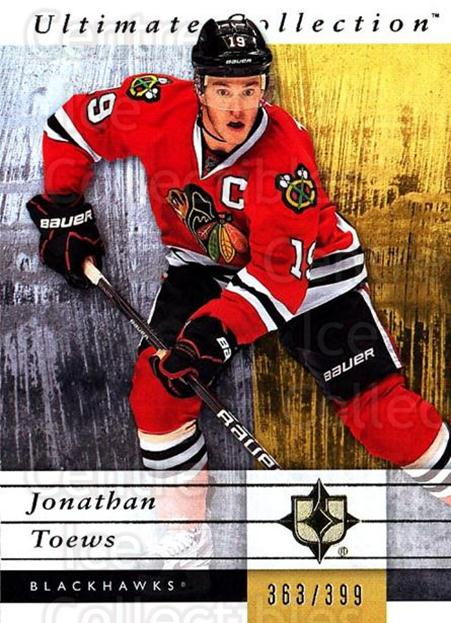 2011-12 UD Ultimate Collection #13 Jonathan Toews<br/>2 In Stock - $5.00 each - <a href=https://centericecollectibles.foxycart.com/cart?name=2011-12%20UD%20Ultimate%20Collection%20%2313%20Jonathan%20Toews...&quantity_max=2&price=$5.00&code=578576 class=foxycart> Buy it now! </a>