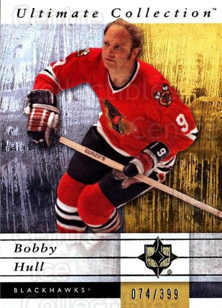 2011-12 UD Ultimate Collection #14 Bobby Hull<br/>2 In Stock - $5.00 each - <a href=https://centericecollectibles.foxycart.com/cart?name=2011-12%20UD%20Ultimate%20Collection%20%2314%20Bobby%20Hull...&quantity_max=2&price=$5.00&code=578577 class=foxycart> Buy it now! </a>