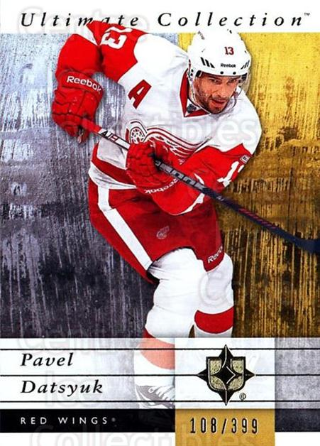 2011-12 UD Ultimate Collection #21 Pavel Datsyuk<br/>2 In Stock - $5.00 each - <a href=https://centericecollectibles.foxycart.com/cart?name=2011-12%20UD%20Ultimate%20Collection%20%2321%20Pavel%20Datsyuk...&quantity_max=2&price=$5.00&code=578584 class=foxycart> Buy it now! </a>
