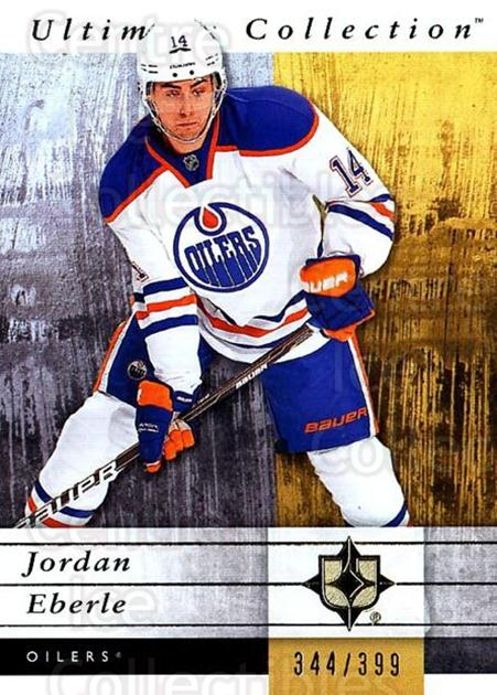 2011-12 UD Ultimate Collection #23 Jordan Eberle<br/>2 In Stock - $5.00 each - <a href=https://centericecollectibles.foxycart.com/cart?name=2011-12%20UD%20Ultimate%20Collection%20%2323%20Jordan%20Eberle...&quantity_max=2&price=$5.00&code=578586 class=foxycart> Buy it now! </a>