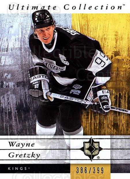 2011-12 UD Ultimate Collection #29 Wayne Gretzky<br/>1 In Stock - $20.00 each - <a href=https://centericecollectibles.foxycart.com/cart?name=2011-12%20UD%20Ultimate%20Collection%20%2329%20Wayne%20Gretzky...&quantity_max=1&price=$20.00&code=578592 class=foxycart> Buy it now! </a>