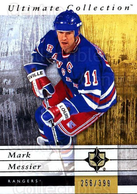 2011-12 UD Ultimate Collection #40 Mark Messier<br/>1 In Stock - $5.00 each - <a href=https://centericecollectibles.foxycart.com/cart?name=2011-12%20UD%20Ultimate%20Collection%20%2340%20Mark%20Messier...&quantity_max=1&price=$5.00&code=578603 class=foxycart> Buy it now! </a>