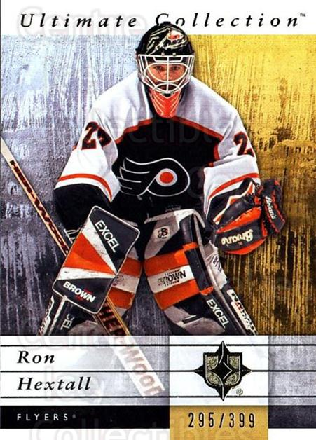 2011-12 UD Ultimate Collection #45 Ron Hextall<br/>2 In Stock - $5.00 each - <a href=https://centericecollectibles.foxycart.com/cart?name=2011-12%20UD%20Ultimate%20Collection%20%2345%20Ron%20Hextall...&quantity_max=2&price=$5.00&code=578608 class=foxycart> Buy it now! </a>