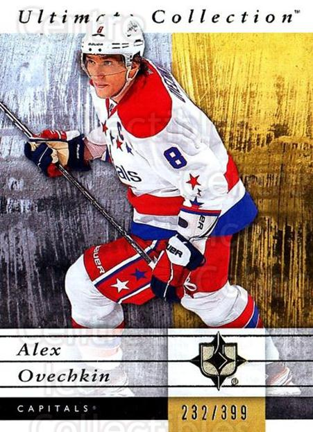 2011-12 UD Ultimate Collection #59 Alexander Ovechkin<br/>1 In Stock - $5.00 each - <a href=https://centericecollectibles.foxycart.com/cart?name=2011-12%20UD%20Ultimate%20Collection%20%2359%20Alexander%20Ovech...&price=$5.00&code=578622 class=foxycart> Buy it now! </a>
