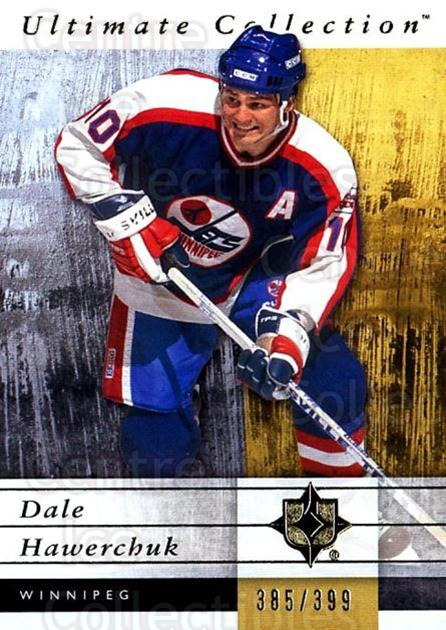2011-12 UD Ultimate Collection #60 Dale Hawerchuk<br/>2 In Stock - $5.00 each - <a href=https://centericecollectibles.foxycart.com/cart?name=2011-12%20UD%20Ultimate%20Collection%20%2360%20Dale%20Hawerchuk...&quantity_max=2&price=$5.00&code=578623 class=foxycart> Buy it now! </a>