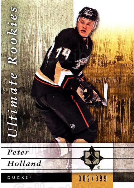 2011-12 UD Ultimate Collection #62 Peter Holland<br/>1 In Stock - $5.00 each - <a href=https://centericecollectibles.foxycart.com/cart?name=2011-12%20UD%20Ultimate%20Collection%20%2362%20Peter%20Holland...&quantity_max=1&price=$5.00&code=578625 class=foxycart> Buy it now! </a>