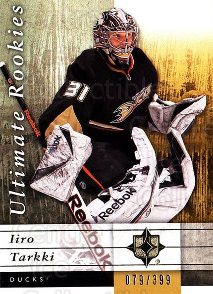2011-12 UD Ultimate Collection #63 Iiro Tarkki<br/>1 In Stock - $5.00 each - <a href=https://centericecollectibles.foxycart.com/cart?name=2011-12%20UD%20Ultimate%20Collection%20%2363%20Iiro%20Tarkki...&quantity_max=1&price=$5.00&code=578626 class=foxycart> Buy it now! </a>