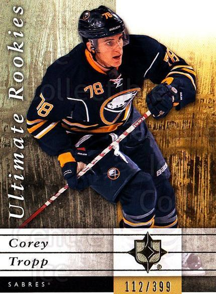 2011-12 UD Ultimate Collection #65 Corey Tropp<br/>1 In Stock - $5.00 each - <a href=https://centericecollectibles.foxycart.com/cart?name=2011-12%20UD%20Ultimate%20Collection%20%2365%20Corey%20Tropp...&quantity_max=1&price=$5.00&code=578628 class=foxycart> Buy it now! </a>