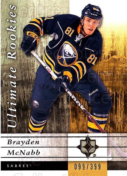 2011-12 UD Ultimate Collection #67 Brayden McNabb<br/>1 In Stock - $5.00 each - <a href=https://centericecollectibles.foxycart.com/cart?name=2011-12%20UD%20Ultimate%20Collection%20%2367%20Brayden%20McNabb...&quantity_max=1&price=$5.00&code=578630 class=foxycart> Buy it now! </a>