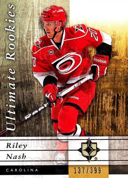 2011-12 UD Ultimate Collection #69 Riley Nash<br/>1 In Stock - $5.00 each - <a href=https://centericecollectibles.foxycart.com/cart?name=2011-12%20UD%20Ultimate%20Collection%20%2369%20Riley%20Nash...&quantity_max=1&price=$5.00&code=578632 class=foxycart> Buy it now! </a>