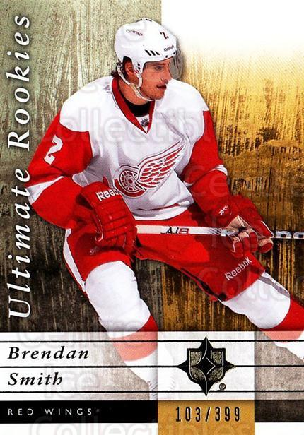 2011-12 UD Ultimate Collection #74 Brendan Smith<br/>1 In Stock - $5.00 each - <a href=https://centericecollectibles.foxycart.com/cart?name=2011-12%20UD%20Ultimate%20Collection%20%2374%20Brendan%20Smith...&quantity_max=1&price=$5.00&code=578637 class=foxycart> Buy it now! </a>