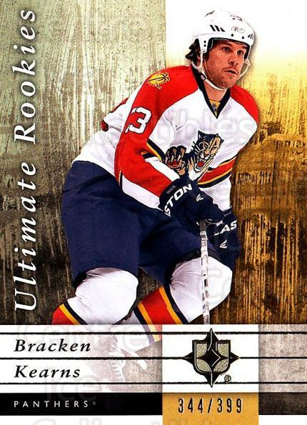 2011-12 UD Ultimate Collection #77 Bracken Kearns<br/>1 In Stock - $5.00 each - <a href=https://centericecollectibles.foxycart.com/cart?name=2011-12%20UD%20Ultimate%20Collection%20%2377%20Bracken%20Kearns...&quantity_max=1&price=$5.00&code=578640 class=foxycart> Buy it now! </a>