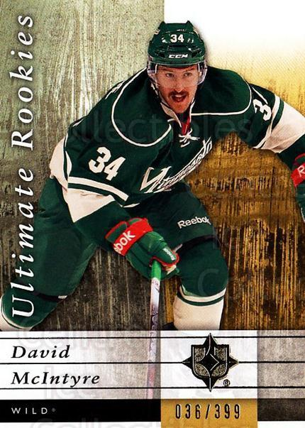 2011-12 UD Ultimate Collection #80 David McIntyre<br/>1 In Stock - $5.00 each - <a href=https://centericecollectibles.foxycart.com/cart?name=2011-12%20UD%20Ultimate%20Collection%20%2380%20David%20McIntyre...&quantity_max=1&price=$5.00&code=578643 class=foxycart> Buy it now! </a>