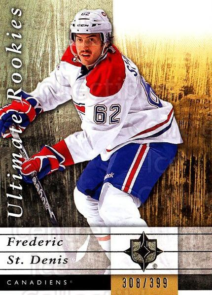 2011-12 UD Ultimate Collection #81 Frederic St. Denis<br/>1 In Stock - $5.00 each - <a href=https://centericecollectibles.foxycart.com/cart?name=2011-12%20UD%20Ultimate%20Collection%20%2381%20Frederic%20St.%20De...&quantity_max=1&price=$5.00&code=578644 class=foxycart> Buy it now! </a>