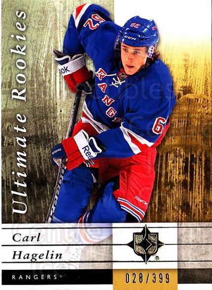 2011-12 UD Ultimate Collection #90 Carl Hagelin<br/>1 In Stock - $5.00 each - <a href=https://centericecollectibles.foxycart.com/cart?name=2011-12%20UD%20Ultimate%20Collection%20%2390%20Carl%20Hagelin...&quantity_max=1&price=$5.00&code=578653 class=foxycart> Buy it now! </a>