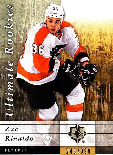 2011-12 UD Ultimate Collection #93 Zac Rinaldo<br/>1 In Stock - $5.00 each - <a href=https://centericecollectibles.foxycart.com/cart?name=2011-12%20UD%20Ultimate%20Collection%20%2393%20Zac%20Rinaldo...&quantity_max=1&price=$5.00&code=578656 class=foxycart> Buy it now! </a>