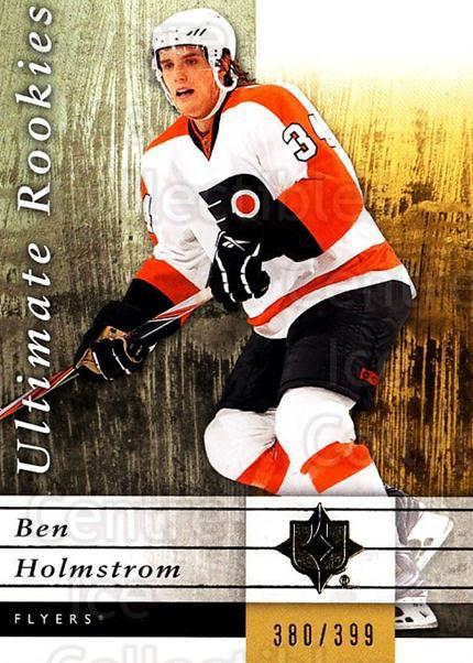 2011-12 UD Ultimate Collection #101 Ben Holmstrom<br/>4 In Stock - $5.00 each - <a href=https://centericecollectibles.foxycart.com/cart?name=2011-12%20UD%20Ultimate%20Collection%20%23101%20Ben%20Holmstrom...&quantity_max=4&price=$5.00&code=578664 class=foxycart> Buy it now! </a>