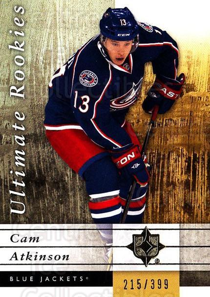 2011-12 UD Ultimate Collection #102 Cam Atkinson<br/>1 In Stock - $5.00 each - <a href=https://centericecollectibles.foxycart.com/cart?name=2011-12%20UD%20Ultimate%20Collection%20%23102%20Cam%20Atkinson...&quantity_max=1&price=$5.00&code=578665 class=foxycart> Buy it now! </a>