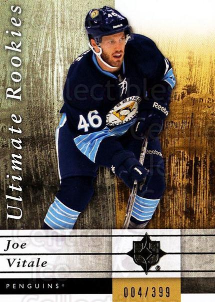 2011-12 UD Ultimate Collection #105 Joe Vitale<br/>1 In Stock - $5.00 each - <a href=https://centericecollectibles.foxycart.com/cart?name=2011-12%20UD%20Ultimate%20Collection%20%23105%20Joe%20Vitale...&quantity_max=1&price=$5.00&code=578668 class=foxycart> Buy it now! </a>