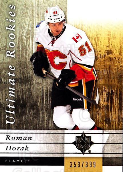 2011-12 UD Ultimate Collection #107 Roman Horak<br/>1 In Stock - $5.00 each - <a href=https://centericecollectibles.foxycart.com/cart?name=2011-12%20UD%20Ultimate%20Collection%20%23107%20Roman%20Horak...&quantity_max=1&price=$5.00&code=578670 class=foxycart> Buy it now! </a>